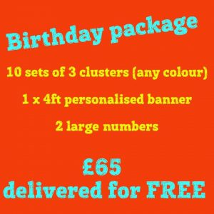 Birthday Balloons - The party and balloon shop golborne