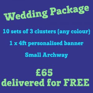 wedding balloons - the party and balloon shop golborne and lowton