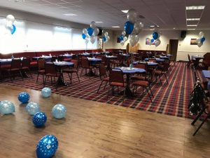 Balloons delivered to Golborne Sports & Social Club - party and balloon shop golborne