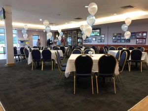 Balloons delivered to East Leigh Rugby Club - the party and balloon shop golborne