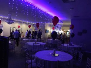 Balloons delivered to Westhoughton Cricket Club - the party and balloon shop golborne