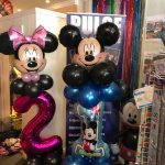 mickey and minnie balloon creations - The Party and balloon shop Tyldesley