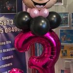 bespoke balloons - minnie mouse themed balloons