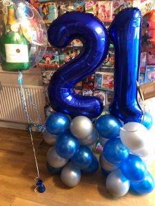 bespoke balloons - birthday balloons