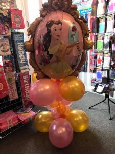 Bespoke balloons - princess themed balloons