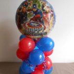 bespoke balloons - superhero themed balloons