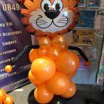 bespoke balloons - tiger themed balloons