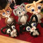 cat balloons - The Party and balloon shop Tyldesley