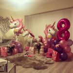 unicorn party ideas - The Party and balloon shop Tyldesley