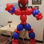 spiderman balloon creation - The Party and balloon shop Tyldesley