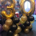 number ballons - The Party and balloon shop Tyldesley