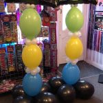 80s balloons - 80s themed party ideas - The Party and balloon shop Tyldesley