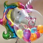 unicorn balloon creations - The Party and balloon shop Tyldesley