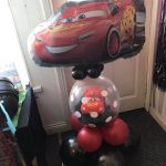 Lightening Mcqueen bespoke Balloon