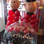 royal wedding balloons - The Party and balloon shop Tyldesley