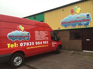 party and balloon shop Lowton