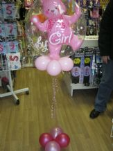 Baby Girl New baby balloon - The Party and Balloon Shop Lowton Golborne
