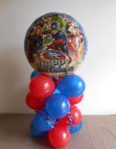 bespoke balloons for all occasions or events - superhero themed balloons