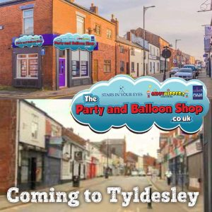 party and balloon shop - tyldesley
